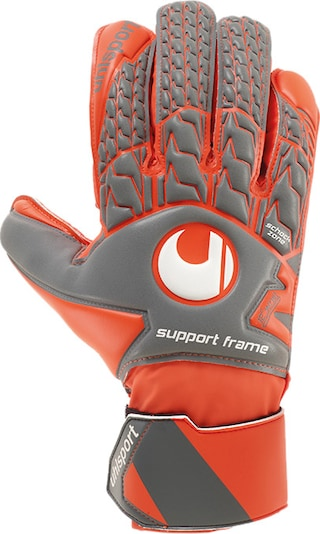 UHLSPORT Handschuh in rot: Frontalansicht
