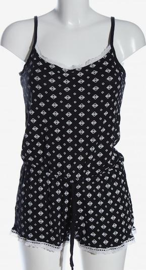 ElleNor Kurzer Jumpsuit in S in schwarz / weiß, Produktansicht