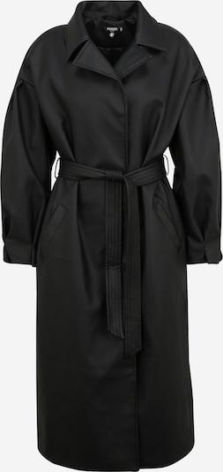Missguided Manteau mi-saison en noir, Vue avec produit