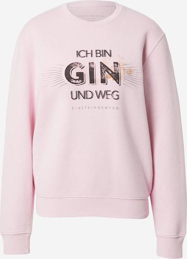 EINSTEIN & NEWTON Sweat-shirt 'Gin Weg Klara Geist' en rose / noir, Vue avec produit