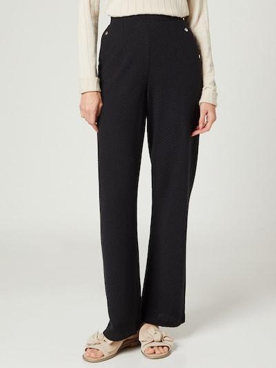 Guido Maria Kretschmer Collection Pantalon 'Mala' en noir, Vue avec modèle