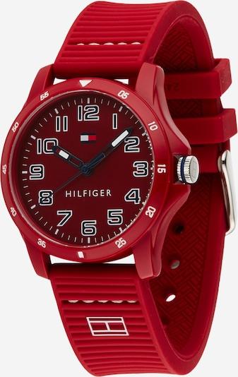 TOMMY HILFIGER Uhr in dunkelblau / rot / weiß, Produktansicht