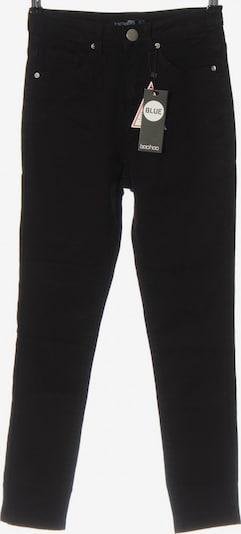 Boohoo Röhrenhose in XXS in schwarz, Produktansicht