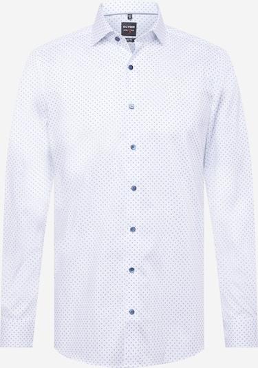 OLYMP Skjorta 'Level 5' i blå / vit, Produktvy