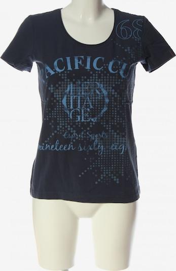 ESPRIT SPORT Print-Shirt in L in blau / schwarz, Produktansicht