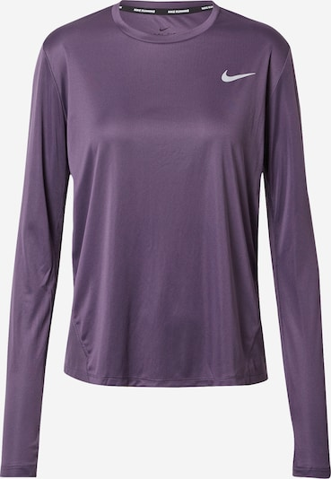 NIKE T-shirt fonctionnel 'MILER' en lilas, Vue avec produit