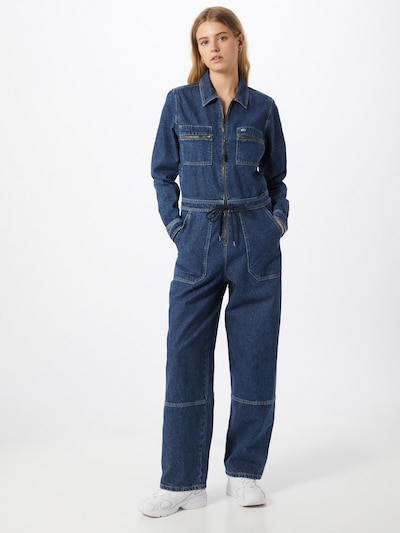 Tommy Jeans Overall in blue denim, Modelansicht