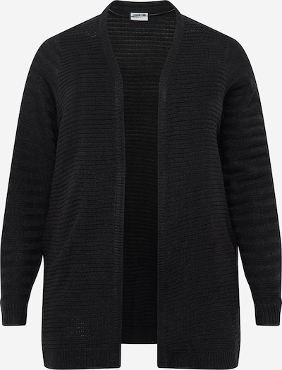 Noisy May Curve Knit cardigan 'NARLY' in black, Item view