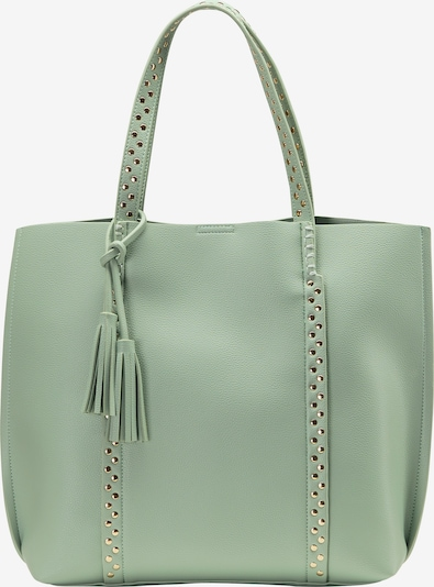 Usha Shopper in gold / mint, Produktansicht