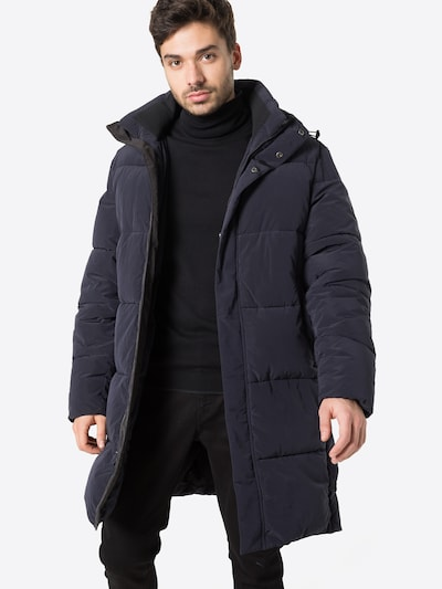 SCOTCH & SODA Winter coat in night blue, View model