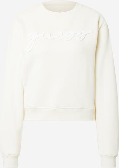 GUESS Sweatshirt 'Amanda' in creme, Produktansicht