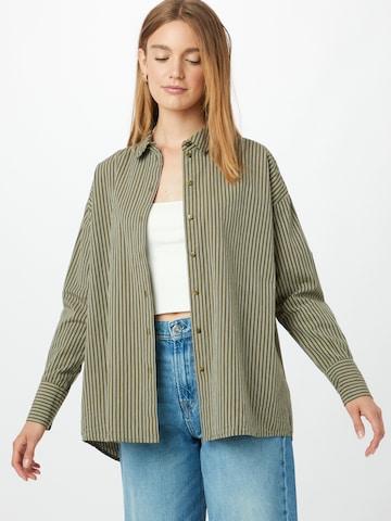VERO MODA Bluse 'PALMER' i grønn