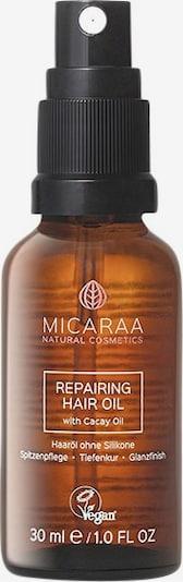 MICARAA Naturkosmetik Haaröl in pastellgelb, Produktansicht