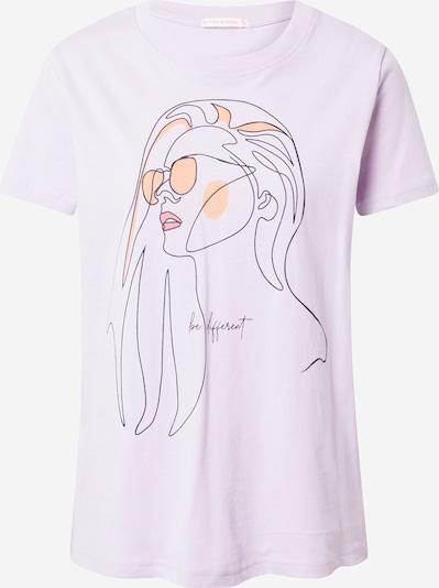 Stitch and Soul T-shirt en violet / mélange de couleurs, Vue avec produit