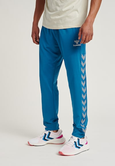 Hummel Pants in blau, Modelansicht