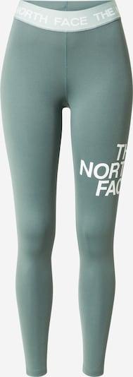 THE NORTH FACE Sporthose in hellgrün / weiß, Produktansicht