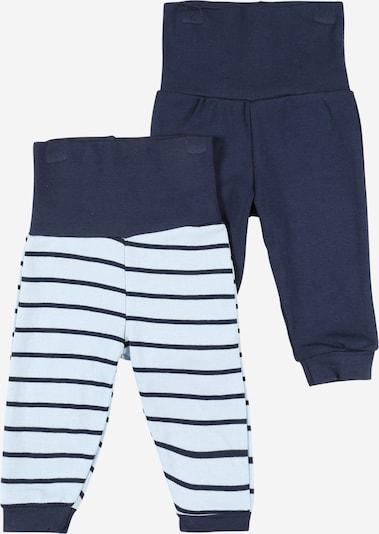 Pantaloni Boley pe albastru marin, Vizualizare produs