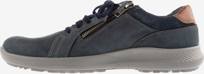 JP1880 Chaussure à lacets en bleu / marron, Vue avec produit