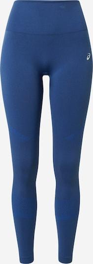 ASICS Sporthose 'SEAMLESS' in blau / neonblau / hellgrau, Produktansicht