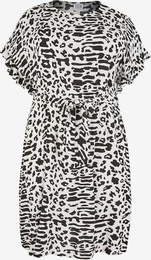 Rock Your Curves by Angelina K. Kleid in ecru / schwarz, Produktansicht