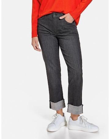 GERRY WEBER Jeans in Schwarz