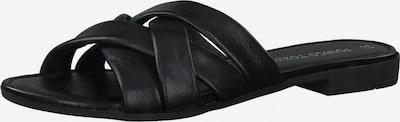 MARCO TOZZI Pantolette in schwarz, Produktansicht