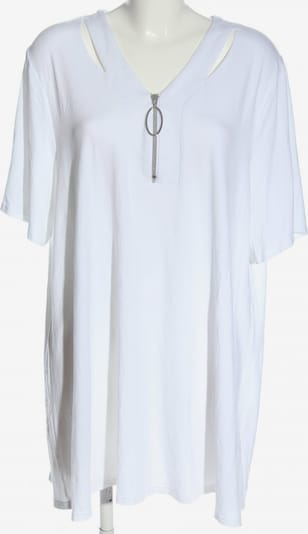 Doris Streich Kurzarm-Bluse in 6XL in weiß, Produktansicht