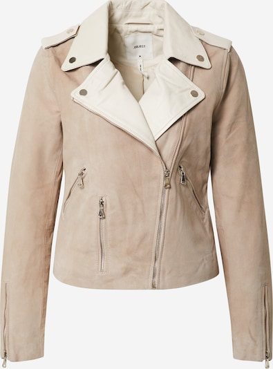 OBJECT Prechodná bunda 'ISLA' - béžová / biela, Produkt