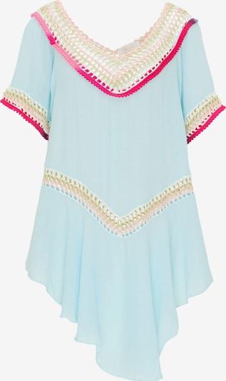 usha FESTIVAL Tuniek in de kleur Pastelblauw / Gemengde kleuren, Productweergave