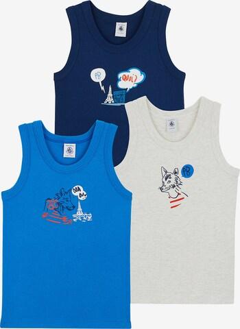 PETIT BATEAU Unterhemd in Blau