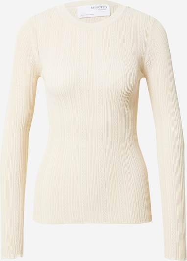 SELECTED FEMME Pullover 'Donnay' in sand, Produktansicht