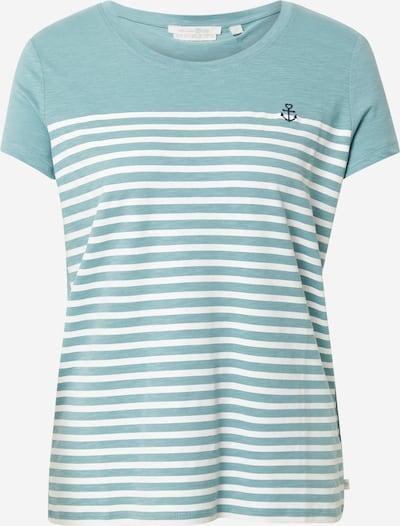 TOM TAILOR DENIM Shirt in navy / hellblau / weiß, Produktansicht