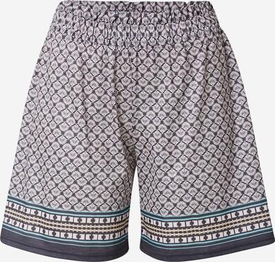 CALIDA Pyjamashorts in türkis / dunkelblau / stone, Produktansicht