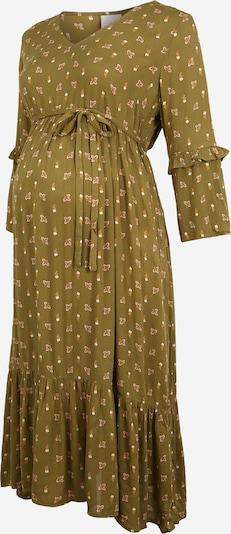 MAMALICIOUS Robe en olive / mélange de couleurs, Vue avec produit