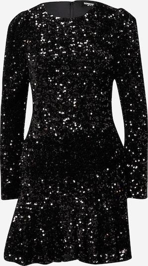 Fashion Union Kleid 'Fiona' in schwarz / silber, Produktansicht