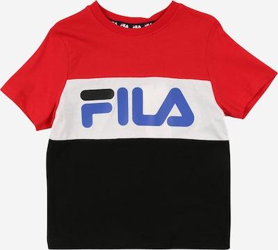 piros / fekete / fehér FILA Póló 'THEA', Termék nézet