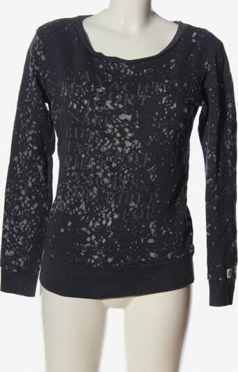 Gaastra Sweatshirt in S in hellgrau / schwarz, Produktansicht
