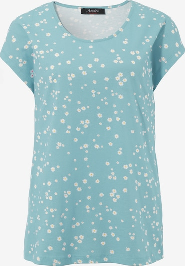 Aniston CASUAL Shirt in hellblau / weiß, Produktansicht