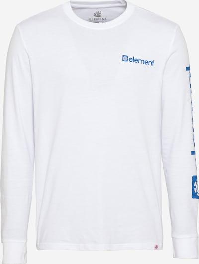 Tricou 'Joint' ELEMENT pe albastru / roșu ruginiu / alb, Vizualizare produs