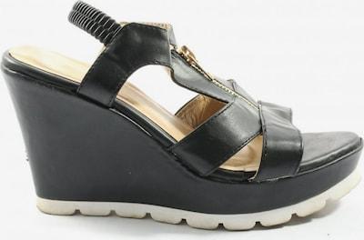 Kayla Plateau-Sandalen in 39 in schwarz, Produktansicht