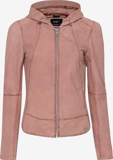 Maze Lederjacke in rosé, Produktansicht