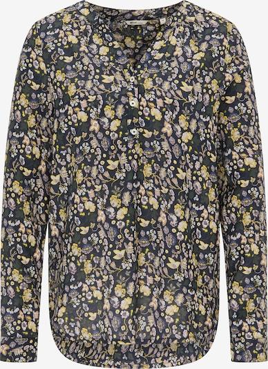 MUSTANG Bluse in nachtblau / gelb / flieder, Produktansicht