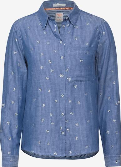CECIL Bluse 'Maritime' in blau / weiß, Produktansicht