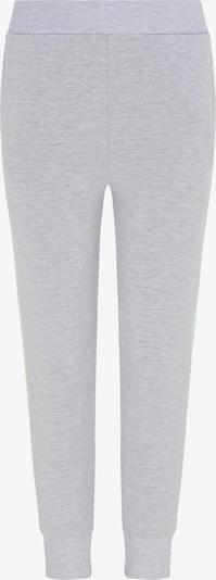 myMo KIDS Pantalon en jaune / gris clair / vert pastel / rose clair, Vue avec produit