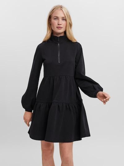 VERO MODA Kleid 'Venus' in schwarz, Modelansicht