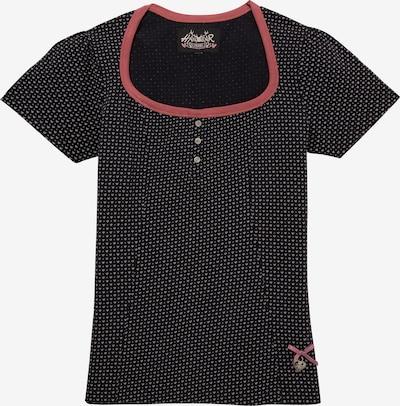 HANGOWEAR Trachtenshirt in schwarz, Produktansicht
