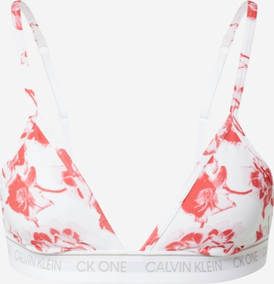 Calvin Klein Underwear Podprsenka - melounová / bílá, Produkt