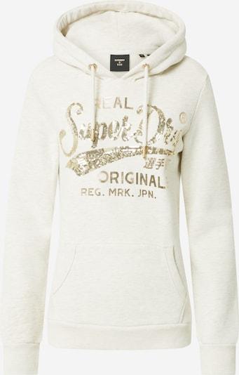 Superdry Sweater majica u bež / zlatna, Pregled proizvoda