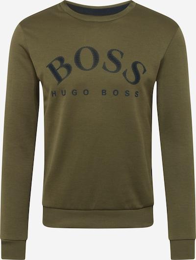 BOSS ATHLEISURE Sweater majica 'Salbo' u maslinasta / crna, Pregled proizvoda