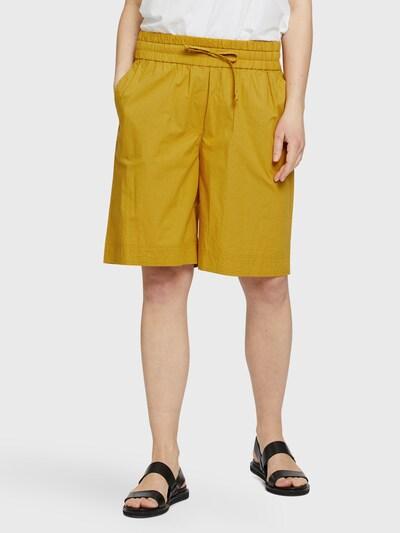 Masai Shorts 'Palitta' in curry, Modelansicht